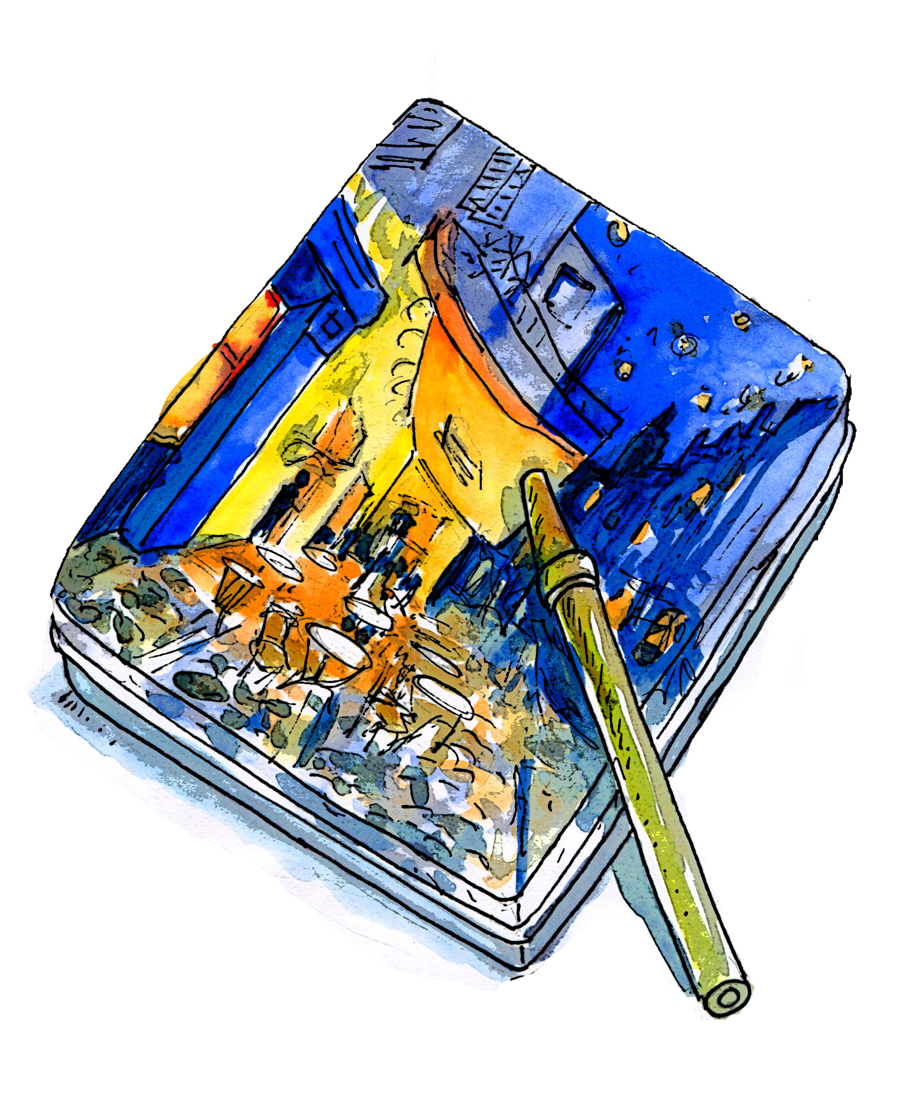 Van Gogh Marker set Andrew Henderson